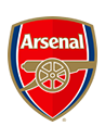 Arsenal                                          Smith Rowe (16)                               crest