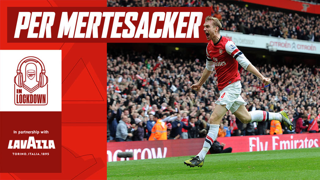 In Lockdown: Per Mertesacker